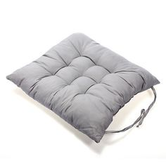 Chair Seat Pad,LHXbang Seat Cushion Polyester 40x40cm Soft Chair Cushion Pad Chair Cushion with rope to fix to Chair,Easy Care - Washable At Home (Gray) ** You can get more details by clicking on the image. (This is an affiliate link) #PatioFurniture