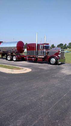 Znalezione obrazy dla zapytania bryce transport inc peterbilt Used Trucks, Big Rig Trucks, Cool Trucks, Peterbilt 359, Peterbilt Trucks, Custom Big Rigs, Custom Trucks, Custom Trailers, Train Truck