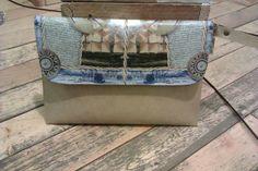 vintage handbag- handmade design..