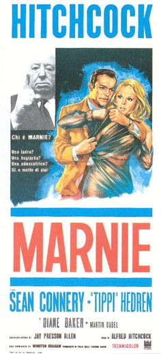 Poster. Alfred Hitchcock, Sean Connery, Tippi Hedren | Marnie (1964)