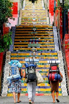 escadaria-selaron-1 by PedroKirilos, via Flickr