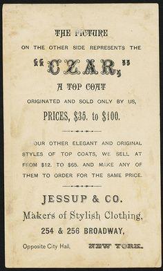 The 'Czar'. [back] | by Boston Public Library
