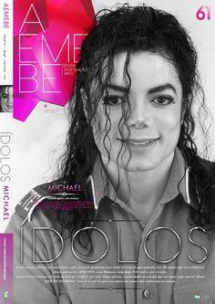 AEMEBE 61  AEMEBE #61 vem com 13 opções de capas trazendo a série ÍDOLOS com alguns dos maiores ídolos do planeta. O segundo fascículo com o incomparável Michael Jackson.