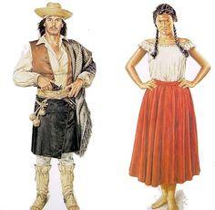 Southern Cone, Rio Grande Do Sul, Fashion Portfolio, Traditional Dresses, Folklore, Vintage Photos, Princess Zelda, Culture, Costumes
