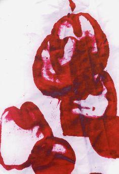 tabi boots red footprint on the spring summer 1989 catwalk of maison martin margiela Tabi Shoes, Steve Lacy, International Fashion Designers, Beautiful Dark Art, Cultural Appropriation, Central Saint Martins, Fashion Design Sketches, Red Paint, Red Aesthetic