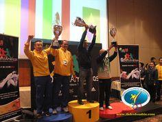 Mexico, Coombia y Brazil, delegaciones que puntearon en la competencia general con la mayor cantidad de puntos.