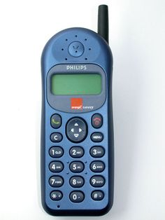 The Phillips Savvy, my first mobile phone and at that time the only person at school who owned one until someone beat me with the Nokia nokia's first cameraphone. Cell Phone Store, Old Cell Phones, New Mobile Phones, Old Phone, Cell Phone Contract, Old Technology, My Childhood Memories, 1980s Childhood, 1980s