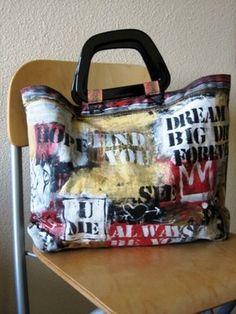96415b2b395c alisaburke  One of a Kind Graffiti Bags