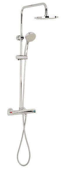 Combinado de ducha Con grifo termostático Victoria roca Ref. 15777853 - Leroy Merlin