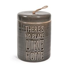 Vase en grès gris H 20 cm CARRICK