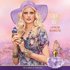La Vie de Boheme Anna Sui perfume - a new fragrance for women 2012