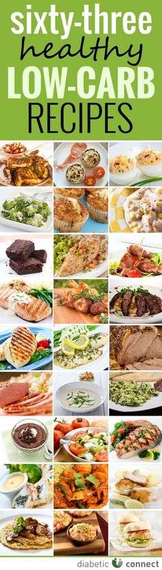 Best of Diabetic Connect LowCarb Recipes. 63 great recipes in one place!