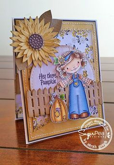Take a look at this stunning card by Sarah, and how she has captured Fall in all of it's splendor with our recently released, Bountiful Blessings stamp set. I adore Every. Single. Detail. of this c...
