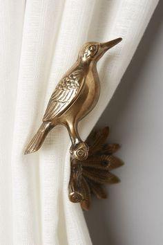 Gilded Aviary Tieback - anthropologie.com