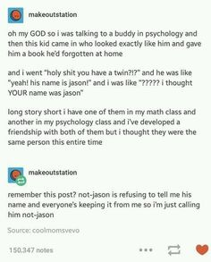 The story of not-Jason.