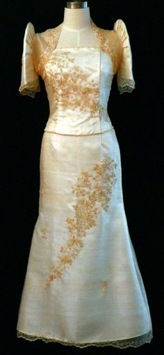 1000 Images About Filipiniana Dresses Gowns Philippine Traditional Dress On Pinterest