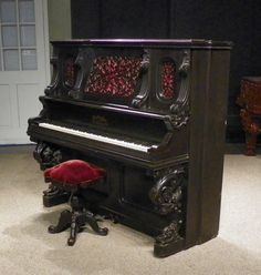 View our library of professional piano restoration services, online piano museum and collection of rare antique instruments for sale. Piano History, Piano Vertical, Piano Shop, Piano Restoration, Old Pianos, Recording Studio Home, Upright Piano, Restoration Services, Piano Music