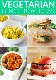 Healthy Vegetarian Lunchbox Ideas | Hummusapien
