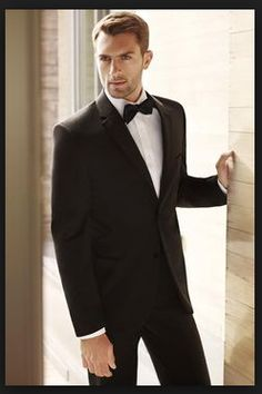 ede40377dec Black Tuxedo  RydersTuxedo Wedding Groom