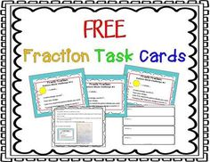 FREE Frantic Fractions from LeahPopinski-SumMathFun on TeachersNotebook.com -  (8 pages)  - Fractions: Common Core Aligned 3.NF.1, 4.NF.1, 4.NF.2, 4.NF.3, and 5.NF A fun, hands-on resource designed to help you introduce and reinforce the concept of fractions in an engaging and creative way.