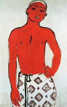 Kees van Dongen-Young Arab Man, 1911. Oil on Canvas