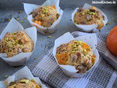 Clementinen-Muffins mit Mohn und Pistazien. #muffins
