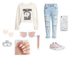 """Untitled #189"" by nevaeh678 on Polyvore featuring H&M, Converse, So.Ya, Skinnydip, Ted Baker, Annello and AERIN"