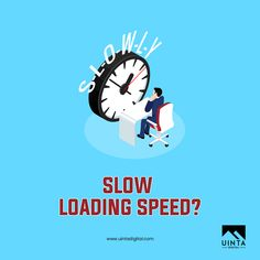 If your website takes more than 3 seconds to load, it will annoy your visitors, and also getting you penalized from Google.   Tip: Check the size of your images - if you have large images; they tend to take longer for the site to load and as such…. causing the website to slow down!  #uintadigital #digitalmarketing #digitalagency#slow #webpage #slowspeed #score #speed #socialmedia #agency #weekend #creative #strategy #planning #socialmediamarketing #website #market #social #seo #marketing…