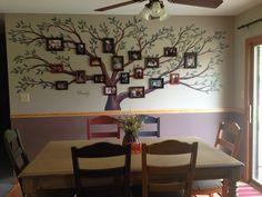 My family tree wall