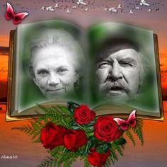 Grandma & Grandpa Walton, The Waltons TV Show 1971-1981 Will Geer (1902-1978) & Ellen Corby (1911-1999)