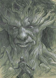 Deku Tree by ~tonysteck on deviantART