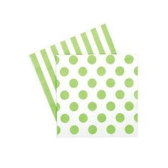 Green Party Napkins  Napkins  Green and by CastlesandCupcakes