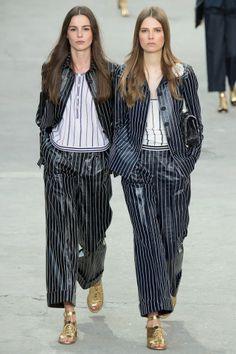 Top 10 Trends of Spring 2015: The Ultimate Fashion Week Cheat Sheet - Trouser Suit - Vogue.com - Chanel SS15