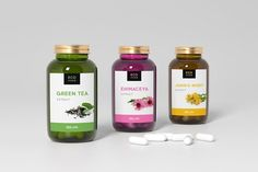 Medical mockup of three bottle  by Pykhtik on @creativemarket