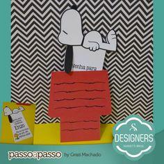 Convite Snoopy   Silhouette Brasil - Blog