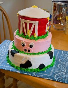 farm birthday cakes for kids   Jo's Cakes: Farm Themed Birthday Cake