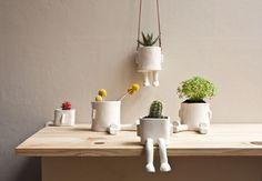 Fancy - Ceramic Hanging Pot by Wacamole Ceramic