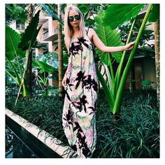 Repost from the beautiful Tully Smyth wearing ISLA Label Spring Maxi available from July #muliainstameet | ISLA Lifestyle