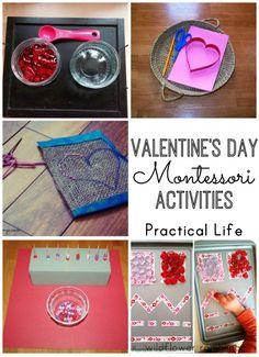 Valentine's Day Montessori Activities - Wildflower Ramblings