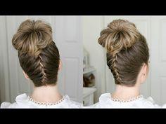 French Braid High Bun | Missy Sue - YouTube