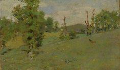 Sorbi Raffaello : Paesaggio  - Olio su tavola - Asta Autori del XIX e XX Secolo - II - Galleria Pananti Casa d\'Aste