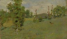 "Raffaello Sorbi (Firenze 1844 - 1931), ""Paesaggio"" Home Aste Asta 84 / 424 bis AUTORI DEL XIX E XX SECOLO - II 424 BIS tttp://www.pananti.com/it/pananti.asp"