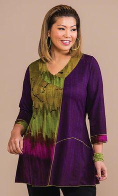 Andromeda Tunic / MiB Plus Size Fashion for Women / Fall Fashion http://www.makingitbig.com/product/4938