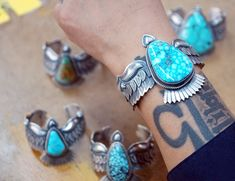 Kingman Turquoise, Turquoise Stone, Turquoise Bracelet, Bracelets, Jewelry, Charm Bracelets, Bijoux, Bracelet, Jewlery