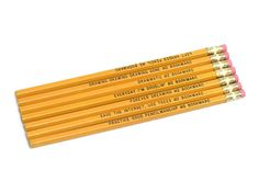 We only used pencils in school.  Love to use pencils to this day.
