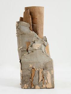 Ruth Hardinger, concrete and cardboard