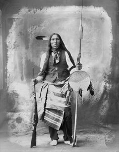 An American Indian called Black Fox of the Arapaho Nation 1898.