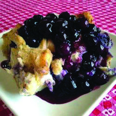 This is a very unique breakfast dish. Good for any holiday breakfast or brunch, it's filled with the fresh taste of blueberries, and covered with a rich blueberry sauce to make it a one of a kind. Blueberry French Toast Casserole, Baked French Toast Casserole, Overnight Blueberry French Toast, French Toast Bake, Breakfast Dishes, Breakfast Recipes, Breakfast Ideas, Breakfast Casserole, Breakfast Plate