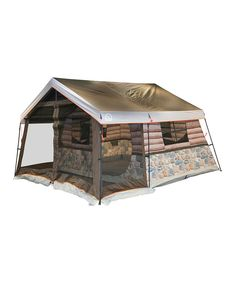 This Igloo Log Cabin Tent by Igloo is perfect! #zulilyfinds