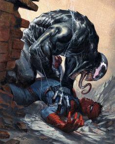"1,066 Likes, 2 Comments - Comic Porn  (@javitogonzalez) on Instagram: ""#Spidey vs #Venom by #GabrieleDellOtto #SpideyFridays #ComicPorn"""